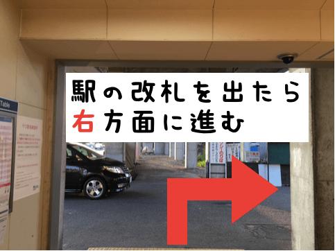 細畑駅改札