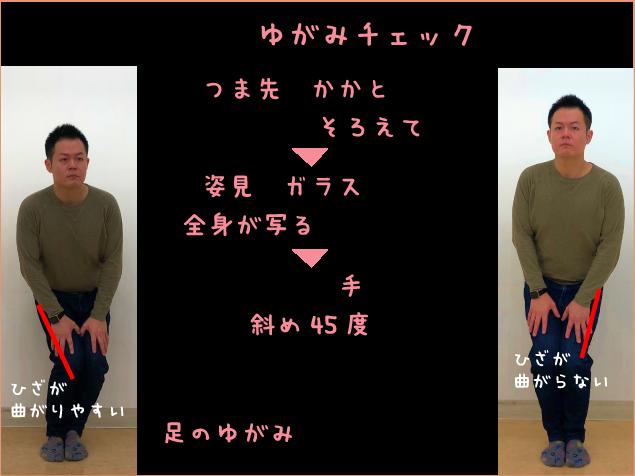 超カンタンゆがみチェック(2)