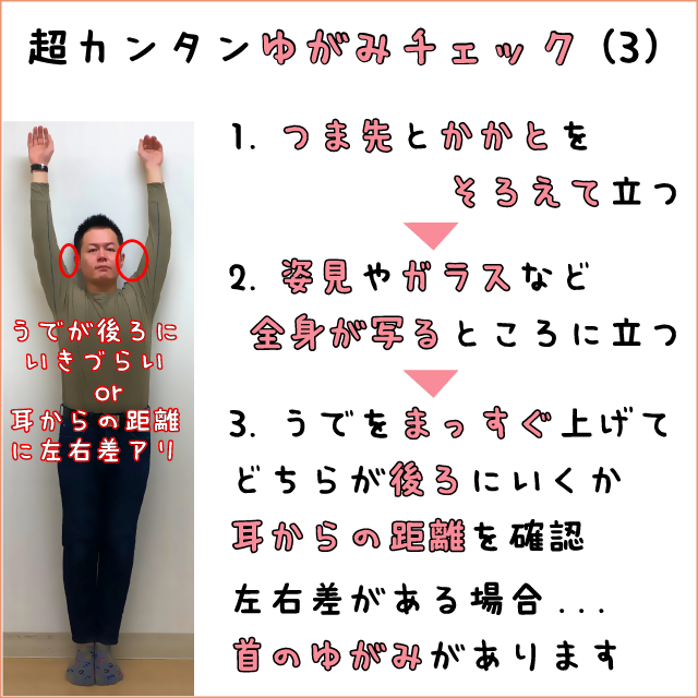超カンタンゆがみチェック(3)