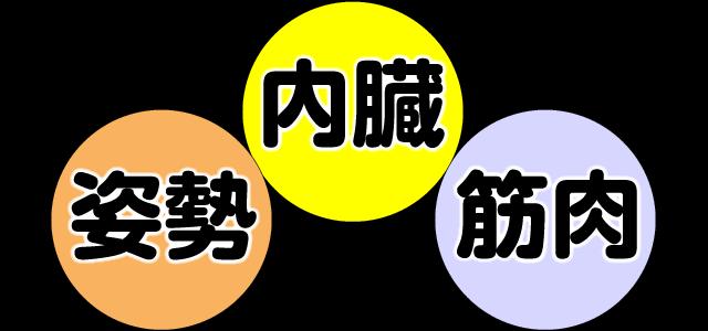 3つのゆがみの種類